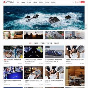 WordPress图片视频类主题模板JustMediaV2.7.3主题