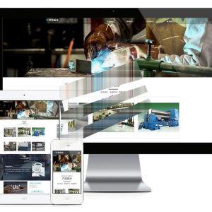 易优cms响应式钣金设备制造公司网站模板源码