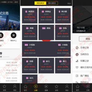 最新更新福星yii高端系列微盘点位盘pC+手机+国内外期货盘+带直播页面+资讯独立页面+完整数据+教程