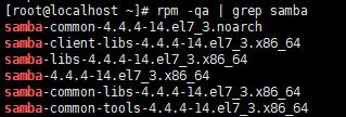 Centos7使用Samba映射为Windows磁盘 第2张