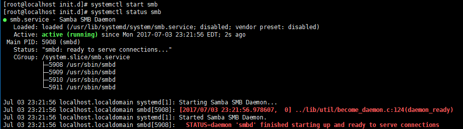 Centos7使用Samba映射为Windows磁盘 第4张