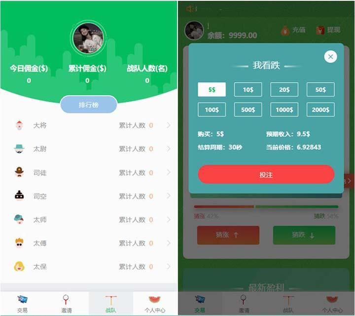 已测小清新币圈免公众号版源码+对接支付+推广K线正常+视频教程 第2张