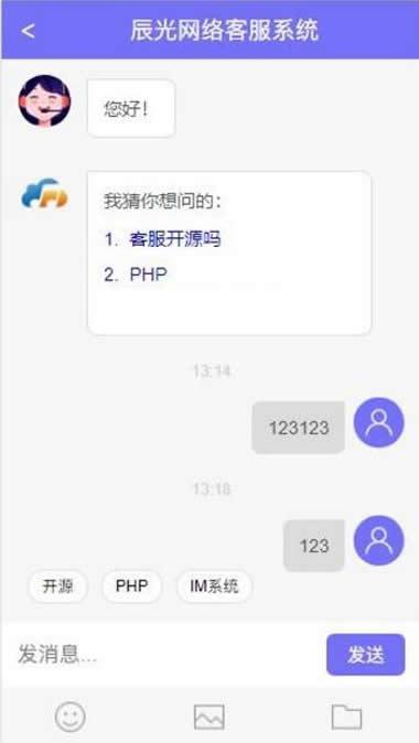 最新PHP在线客服系统聊天源码 H5网页端在线客服源码[可二开] 第1张