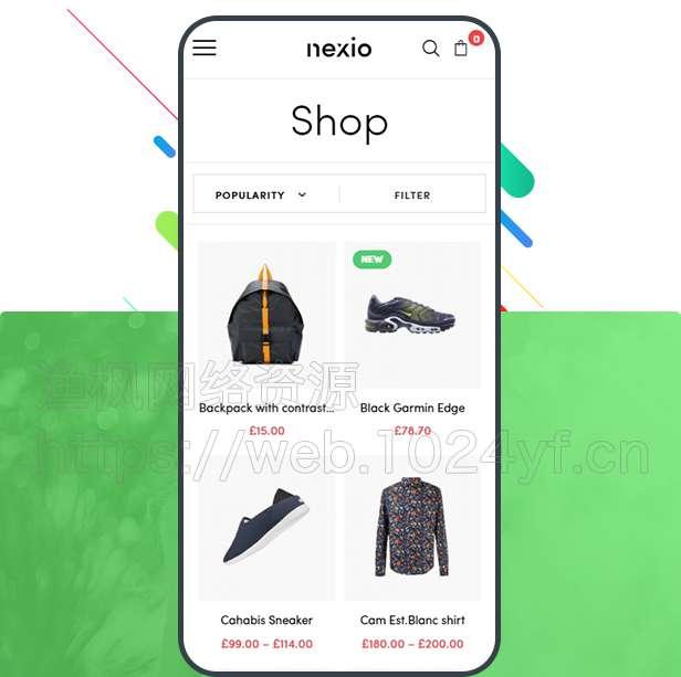 WordPress主题Nexio v1.0.7 时尚服装WooCommerce商店主题 第1张
